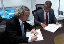Reitor assina convênio para segurança da UFBA
